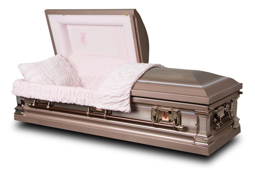 Magestic Stainless Steel Casket