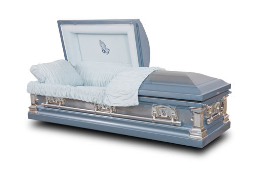 Sanctuary Stainless Steel Casket