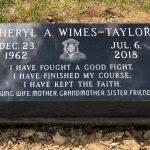 Black Graduation Pic Headstone